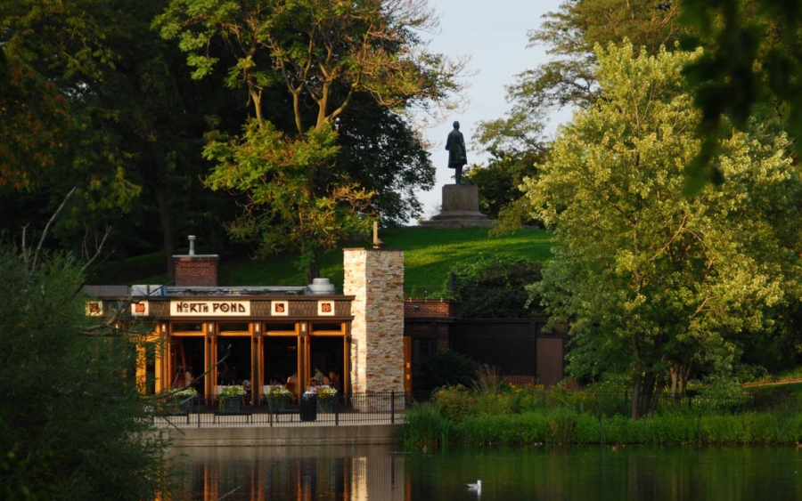 Exterior of North Pond Restaurant in Chicago