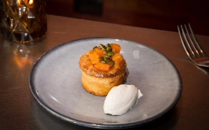 pumpkin basque cake the bristol
