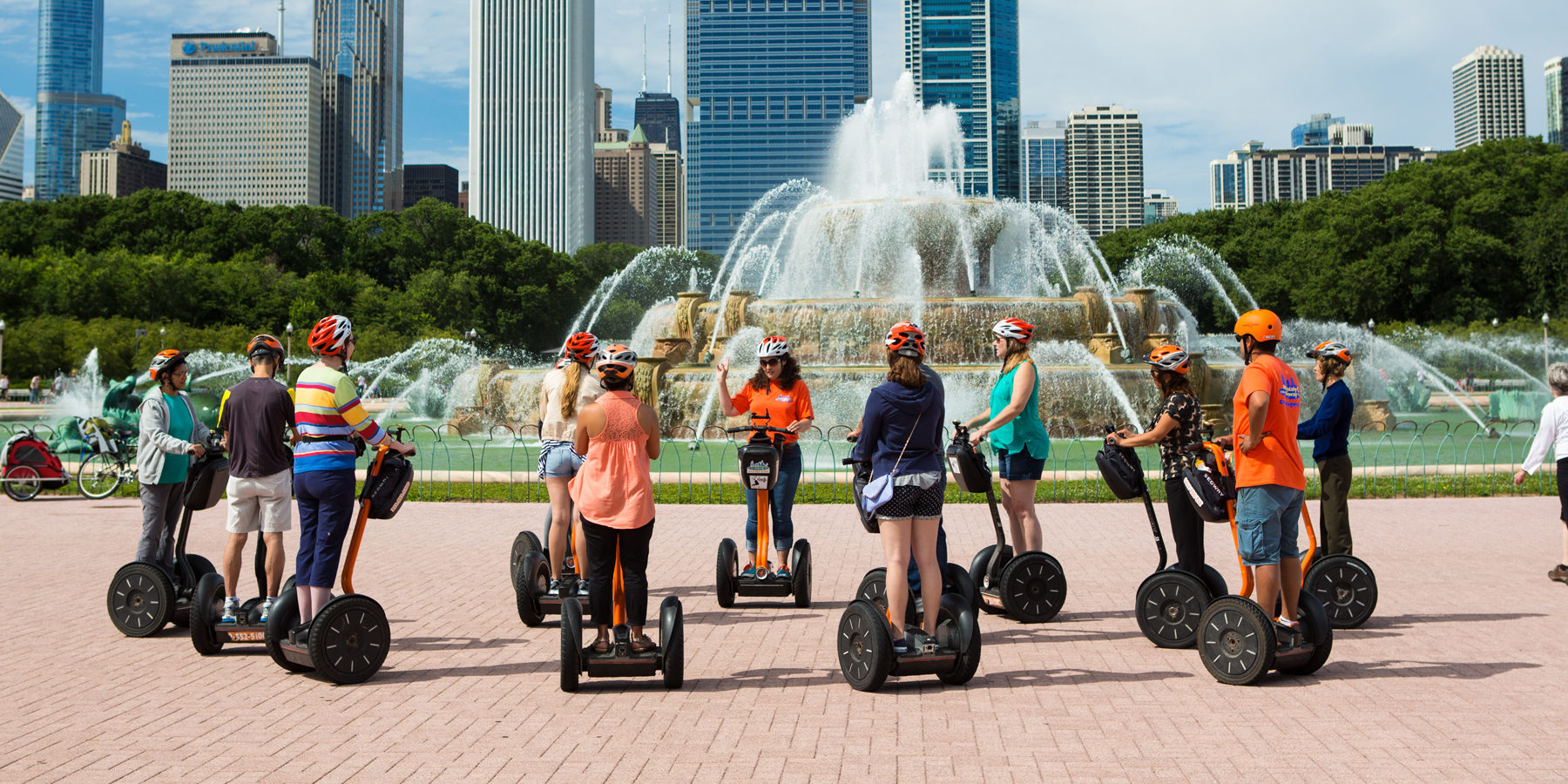 Segway tour of Chicago