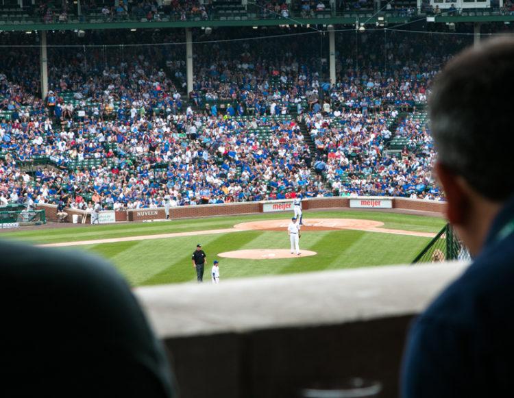 Baseball opening game