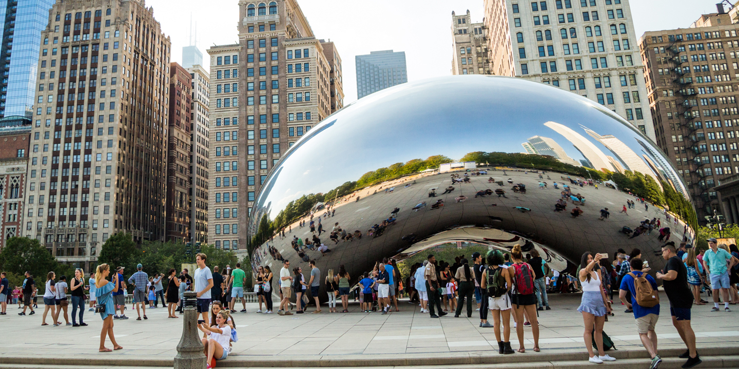 The Bean (Cloud Gate) in Chicago | Choose Chicago