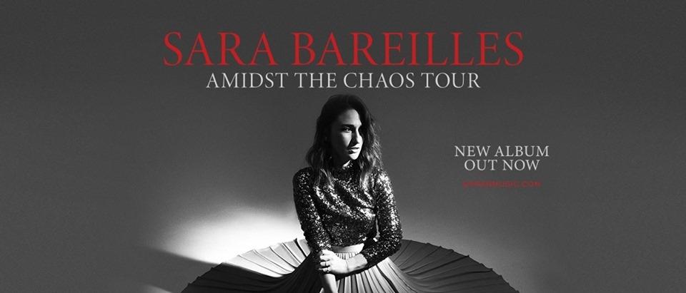 Sara Bareilles: Amidst The Chaos Tour 2019 album promo