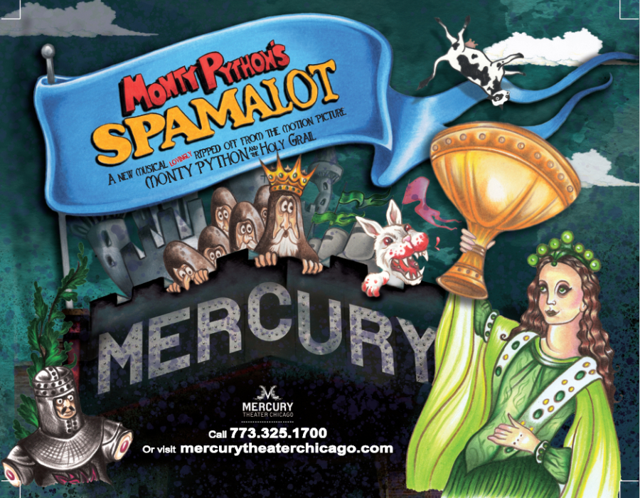 Monty Pythn's Spamalot at Mercury Theater in Chicago