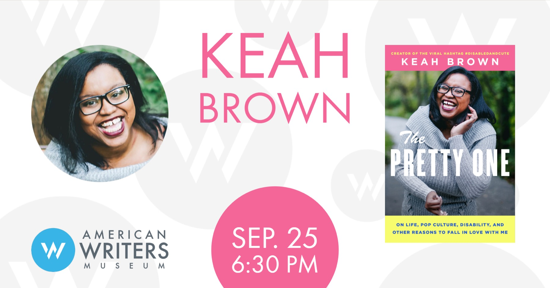 Keah Brown: The Pretty One promo for Chicago