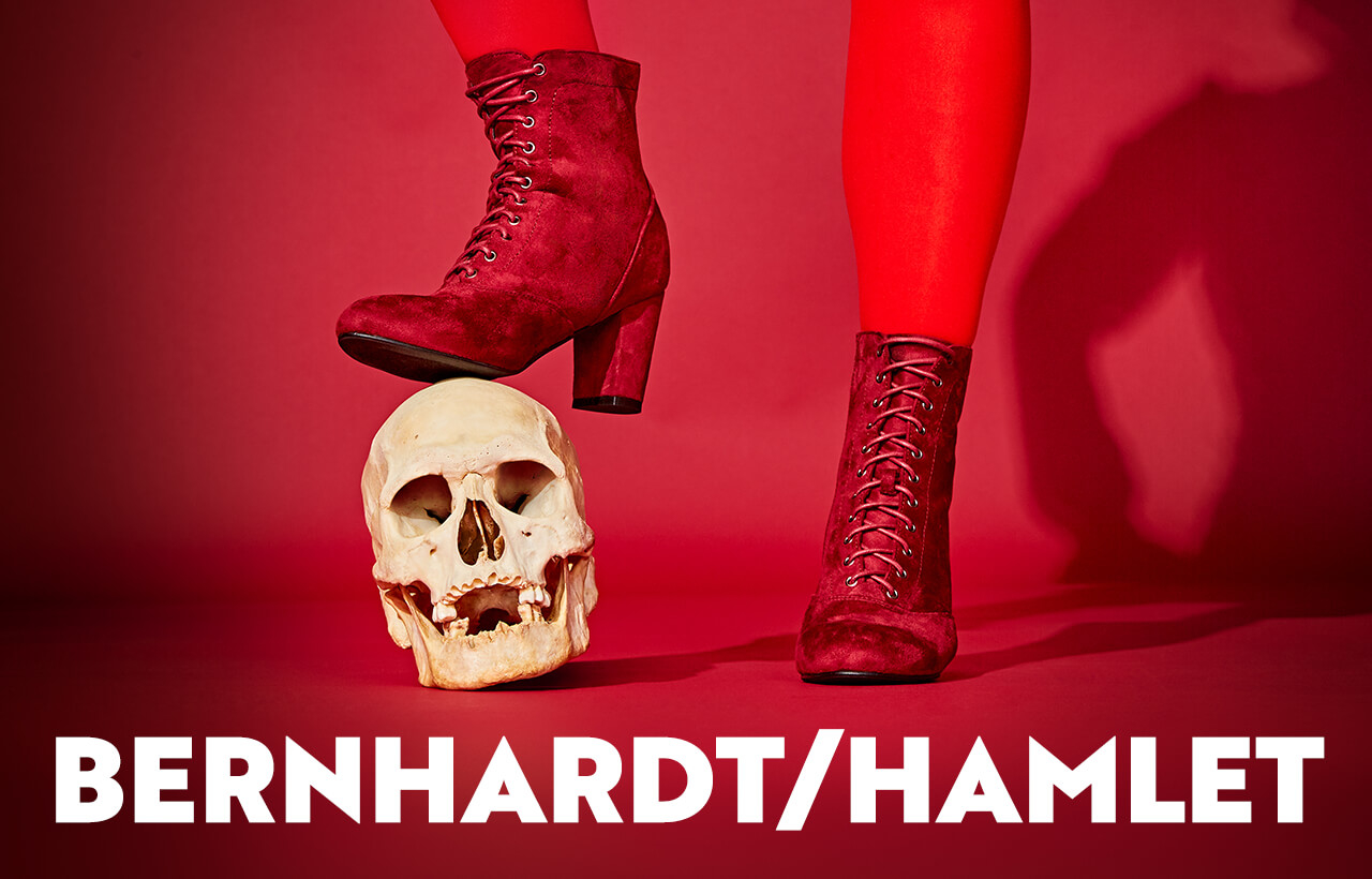 Chicago promo for Bernhardt/Hamlet