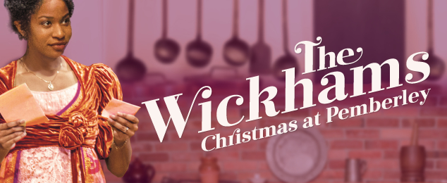 The Wickhams: Christmas at Pemberley Chicago promo