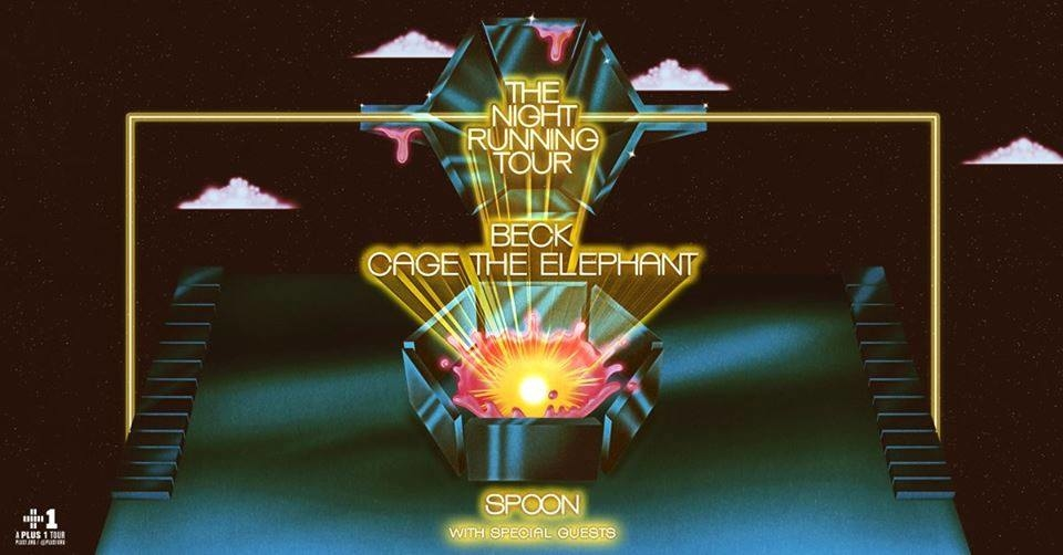 Beck & Cage The Elephant: The Night Running Tour