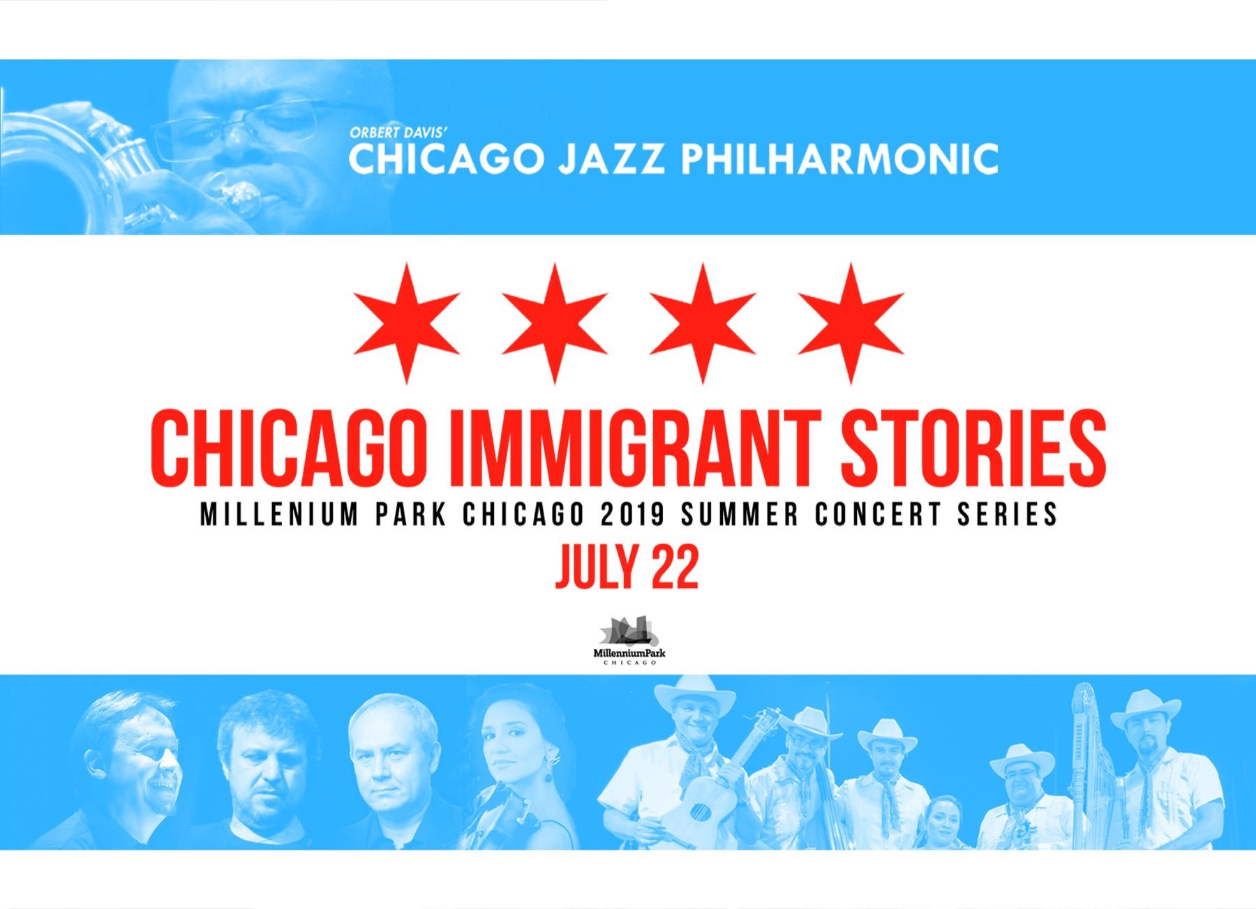 Chicago Jazz Philharmonic's Chicago Immigrant Stories II