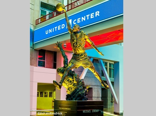United Center - Michael Jordan