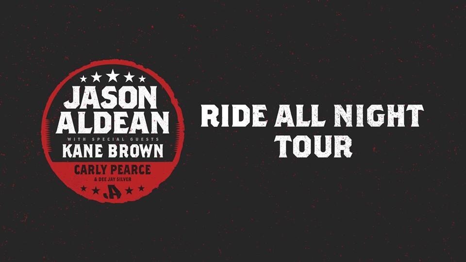 Jason Aldean: Ride All Night Tour 2019 promo for Chicago