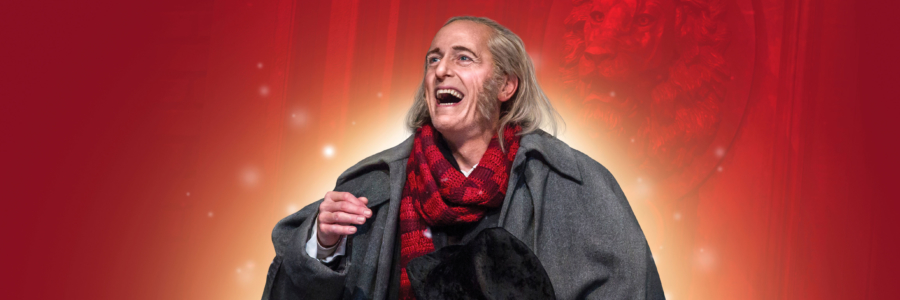 Chicago Actor as Scrooge in A Christmas Carol