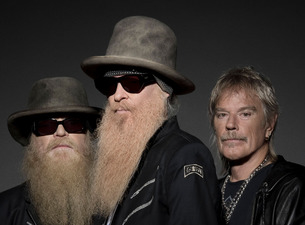 Chicago promo for ZZ Top