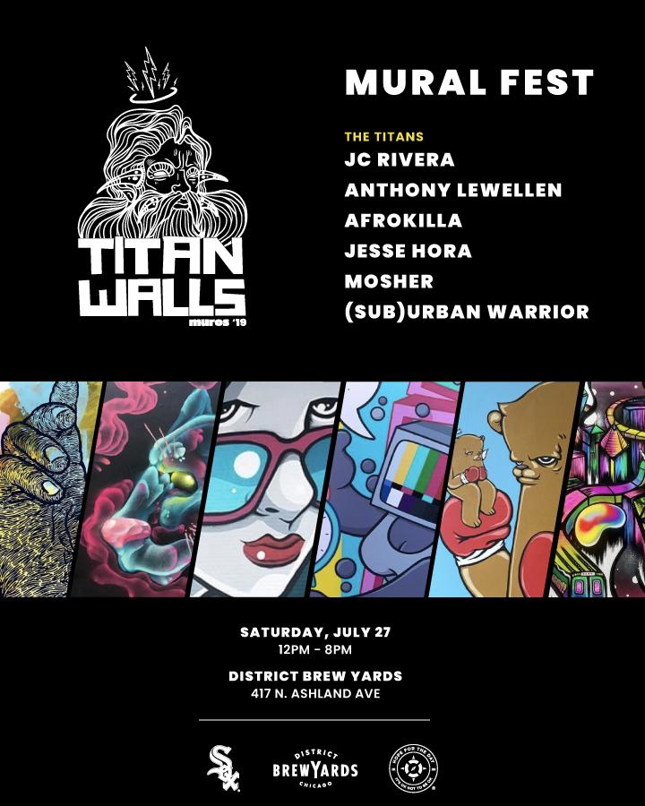 Titan Walls Mural Festival