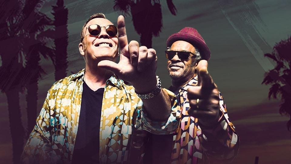 UB40 featuring Ali and Astro & Shaggy 40th Anniversary Tour promo for Chicago