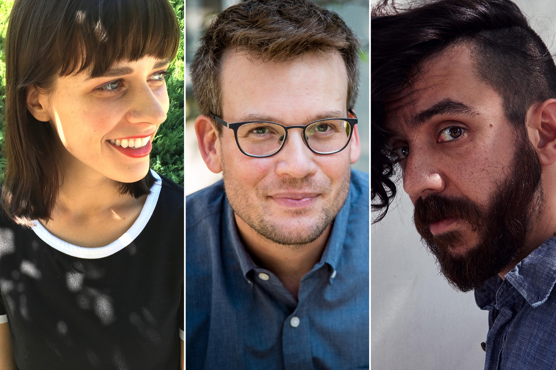 Chicago promo for Ours Poetica Launch Featuring Paige Lewis, John Green & Kaveh Akbar