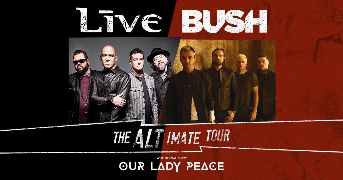Bush & +LIVE+