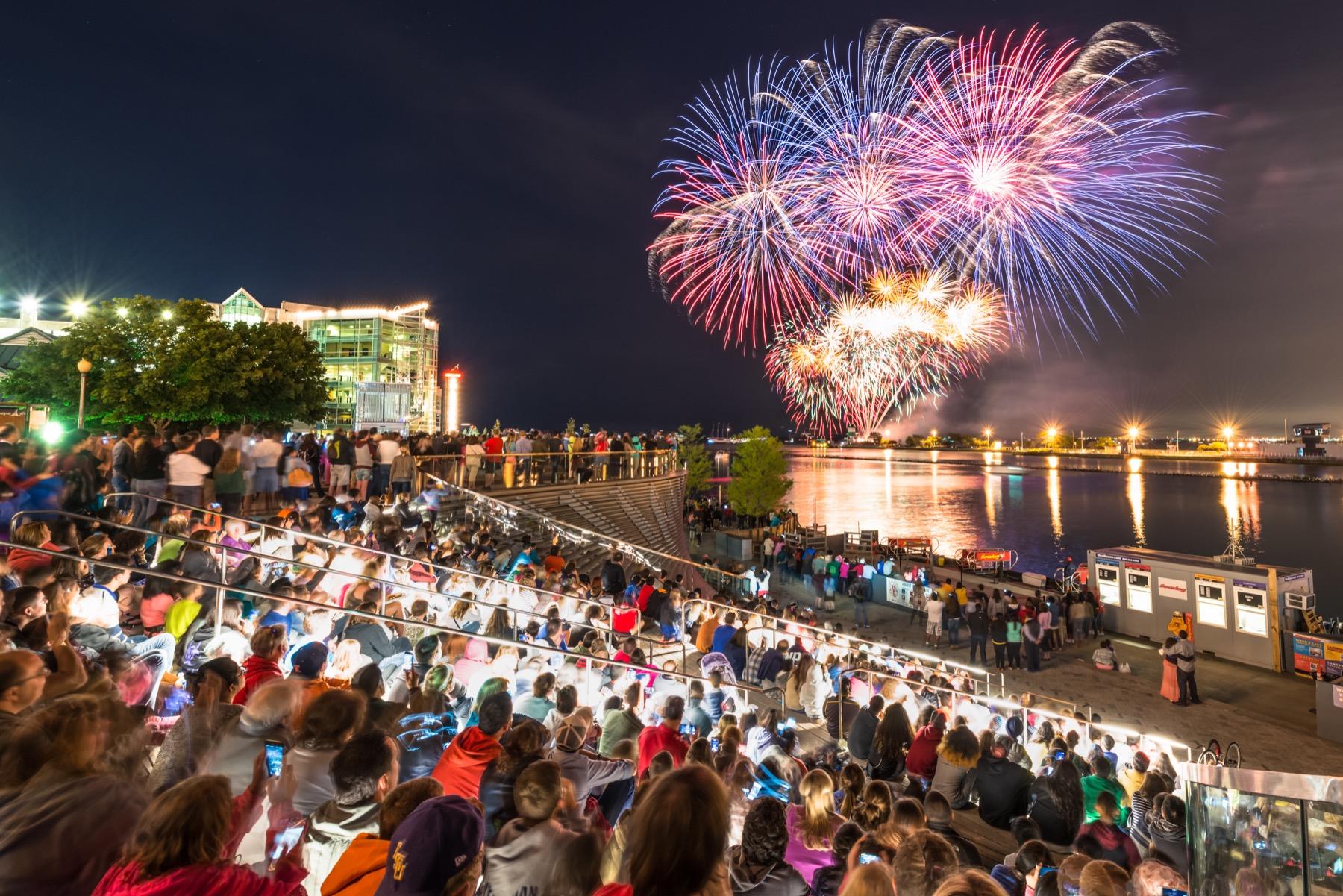 Aon Summer Fireworks