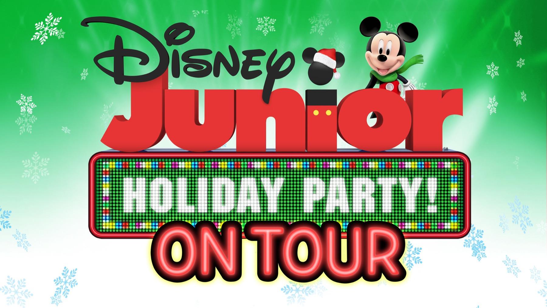 Disney Junior Holiday Party tour Chicago promo