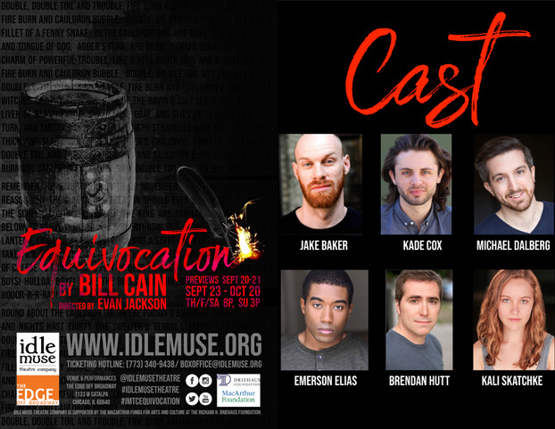 Idle Muse Theatre Company in Chicago Presents Equivocation