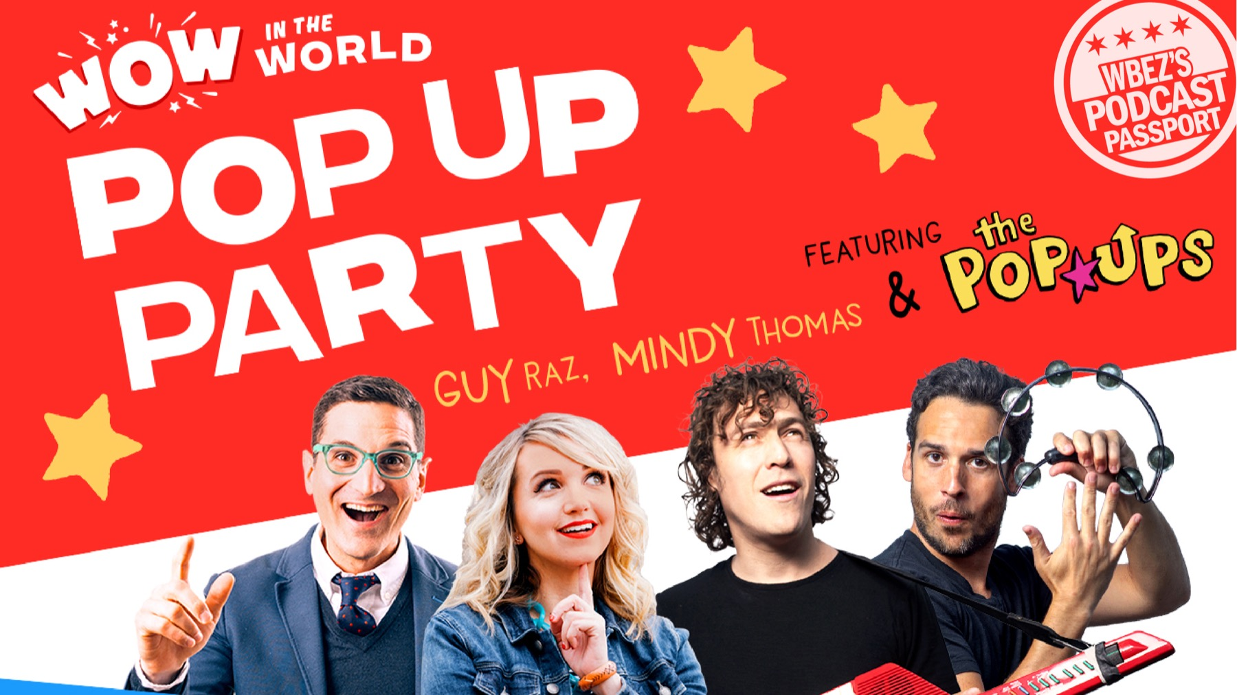 WOW In The World Pop-Up Party