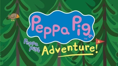 Logo for Peppa Pig's Adventure