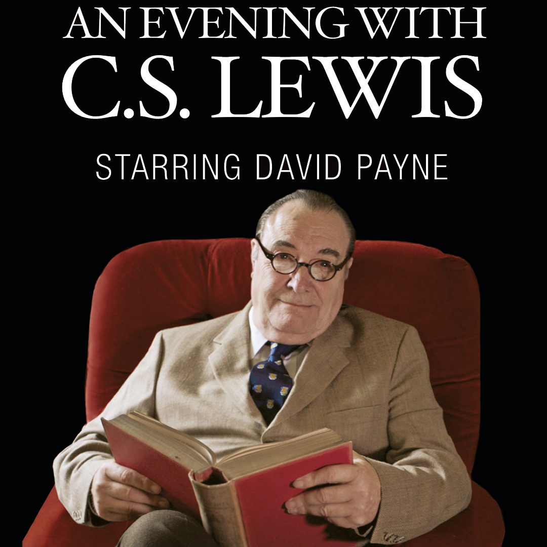 An Evening with C.S. Lewis event in Chicago poster