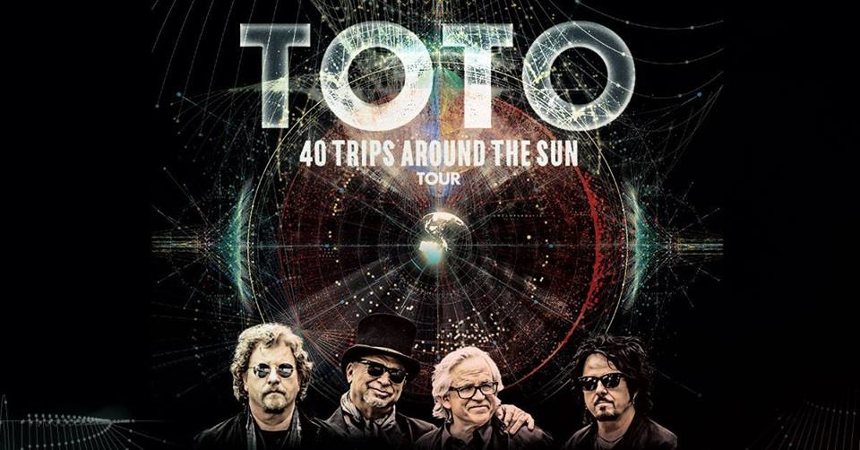TOTO - 40 Trips Around The Sun promo for Chicago