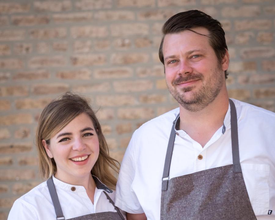 Anna and David Posey