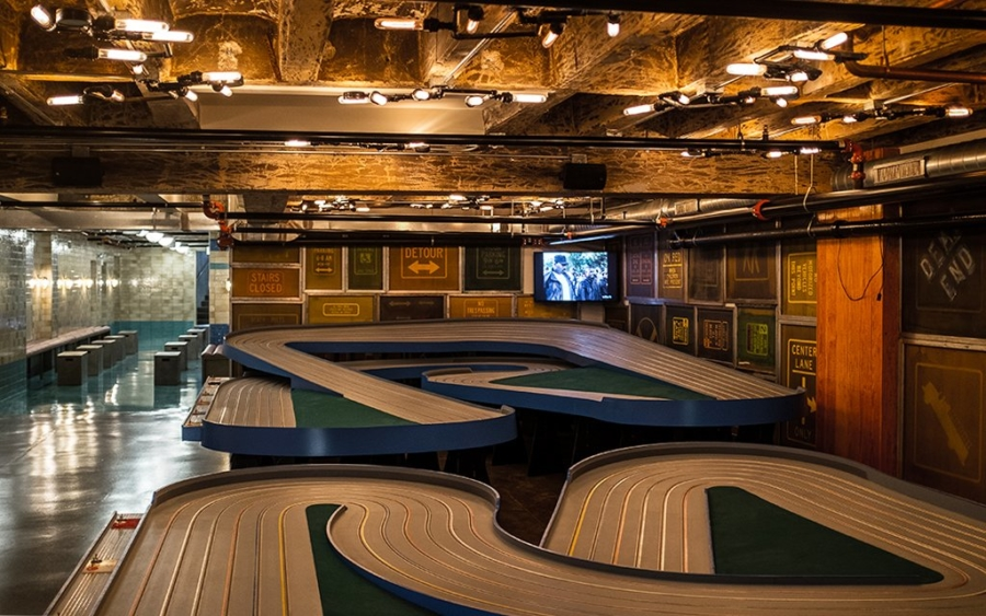 FieldHouse Jones game room