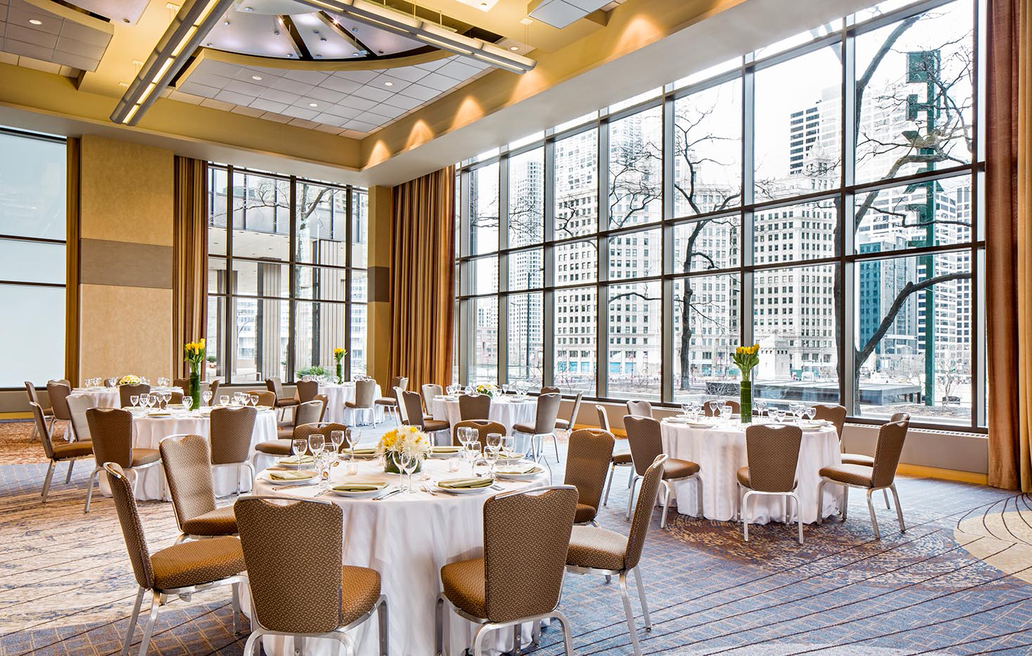 Hyatt Regency Chicago Crystal Ballroom