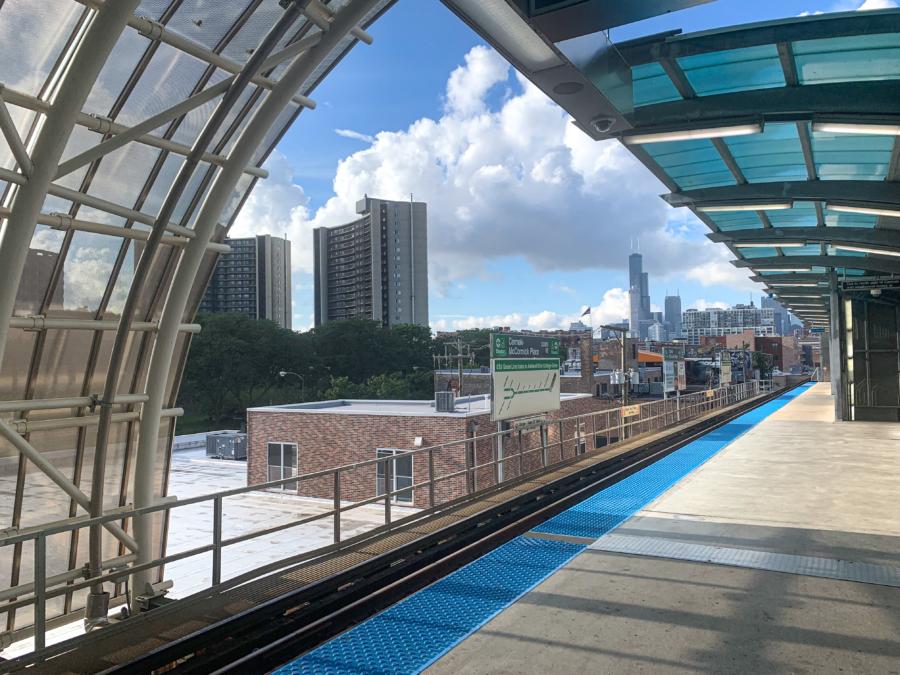 Green Line L Train Station