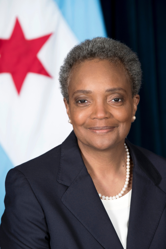 Mayor Lori Lightfoot Portrait