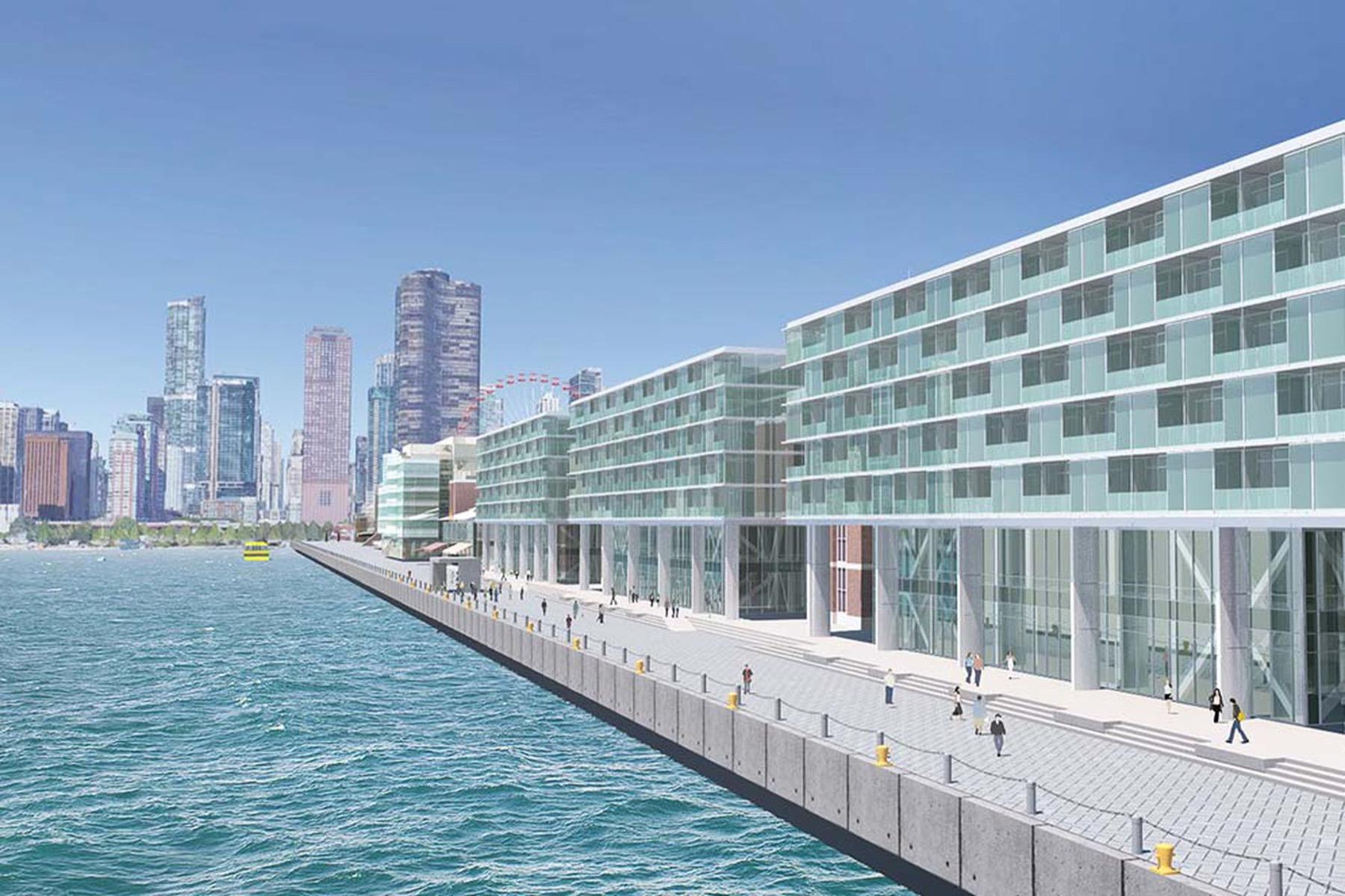 Hilton at Navy Pier ©KOO LLC
