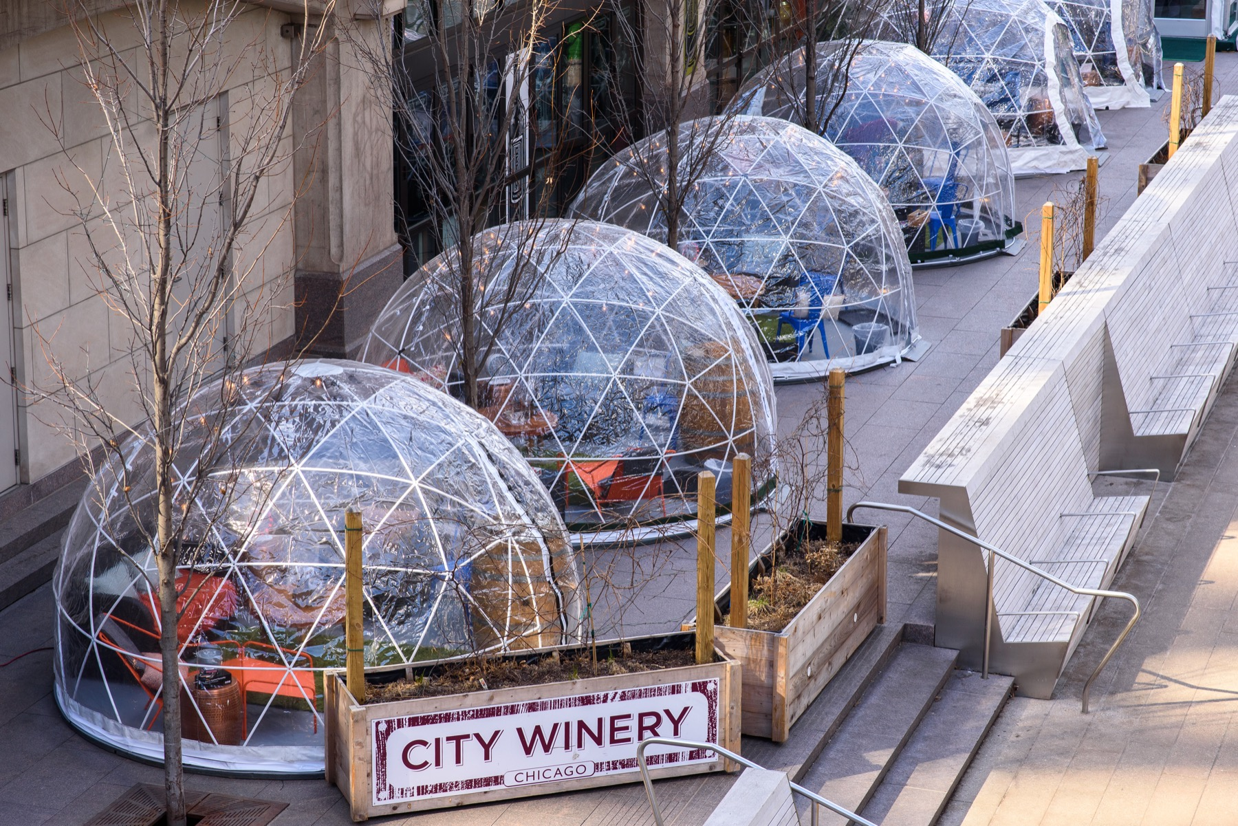 City Winery River Domes