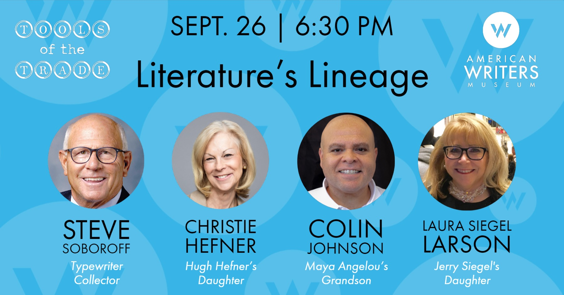 Literature's Lineage: Descendants of Writers Share Stories