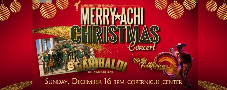 Merry-Achi Christmas Concert Chicago promo