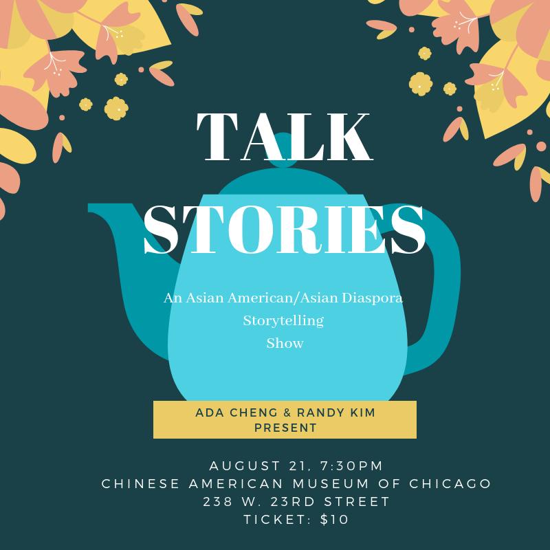 TALK STORIES: An Asian American/Asian Diaspora Storytelling Show