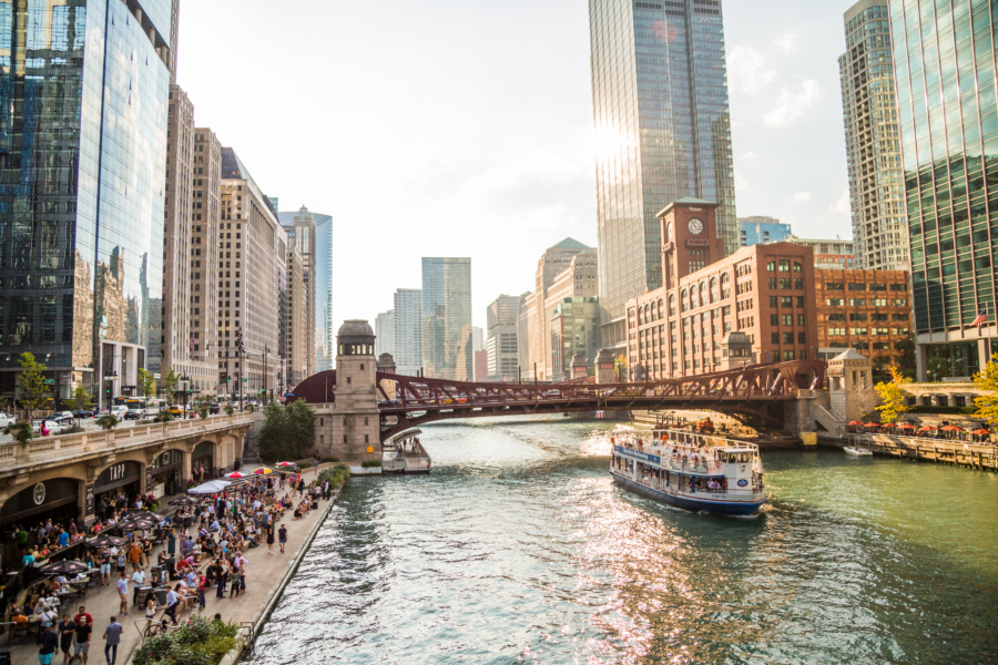 Chicago Riverwalk InstaGreeter