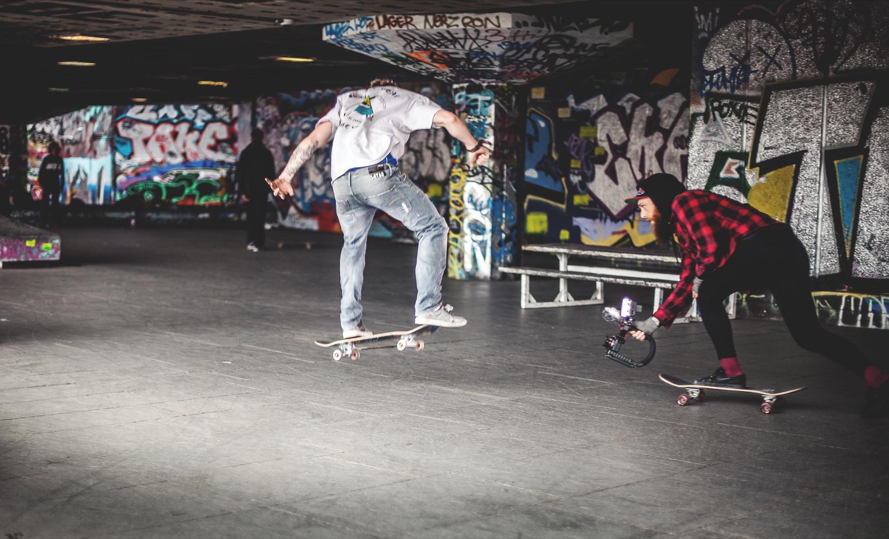1990s skateboarders