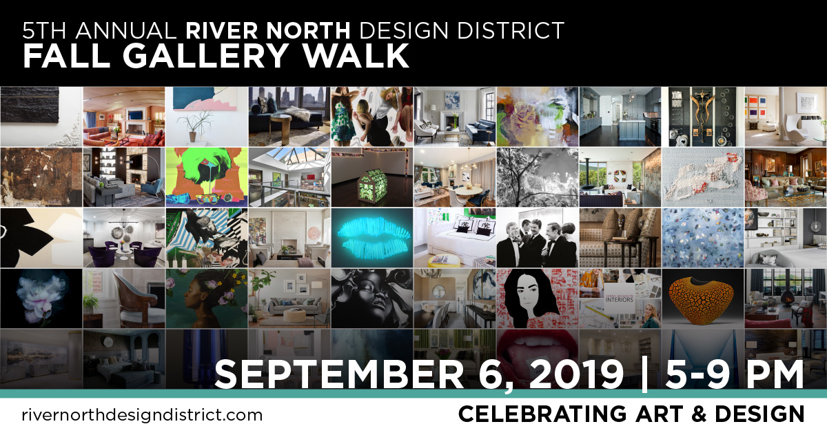 The 5th Annual River North Design District Fall Gallery Walk