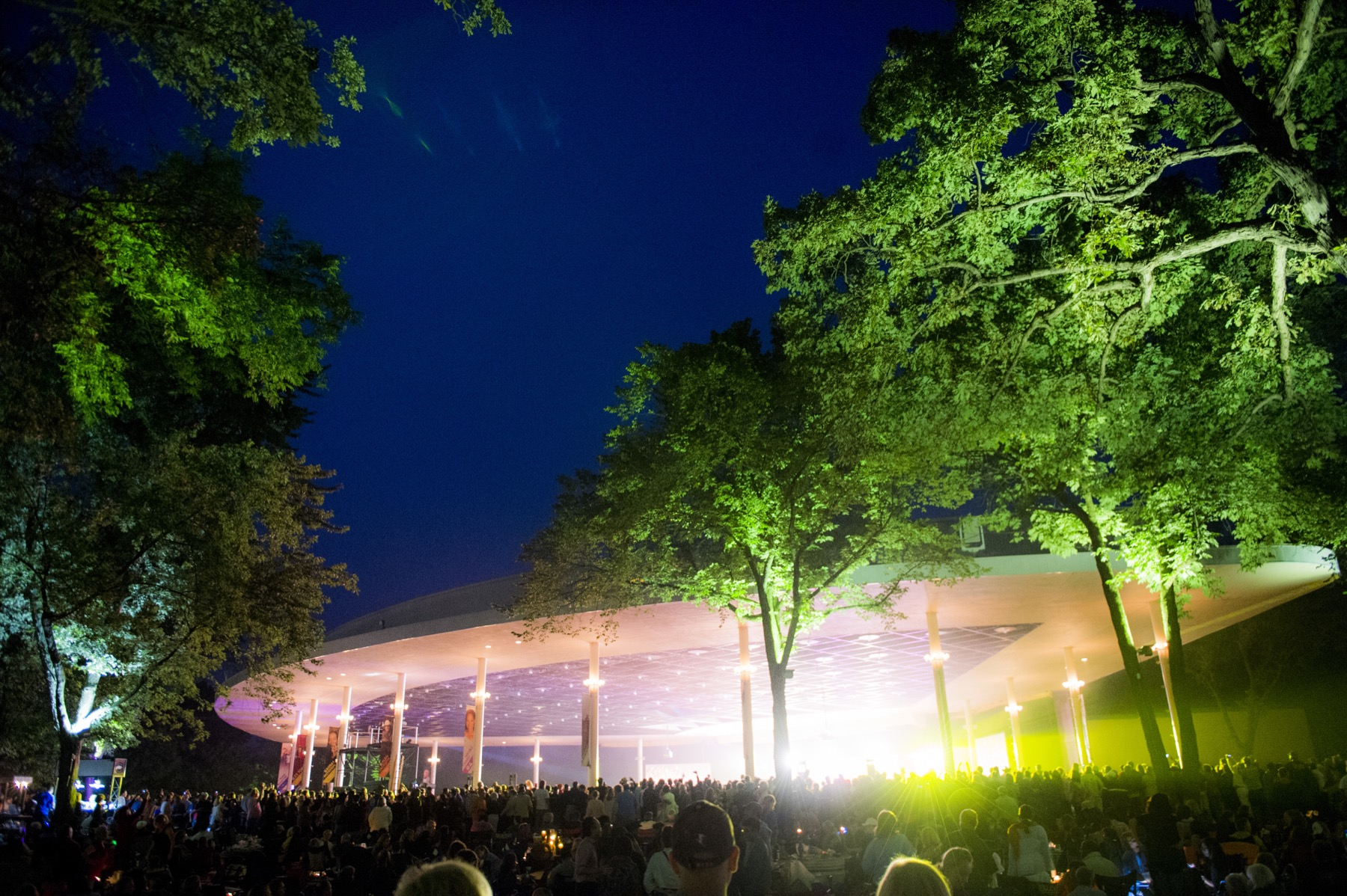 Chicago Symphony Orchestra performs Ghostbusters at Ravinia Festival