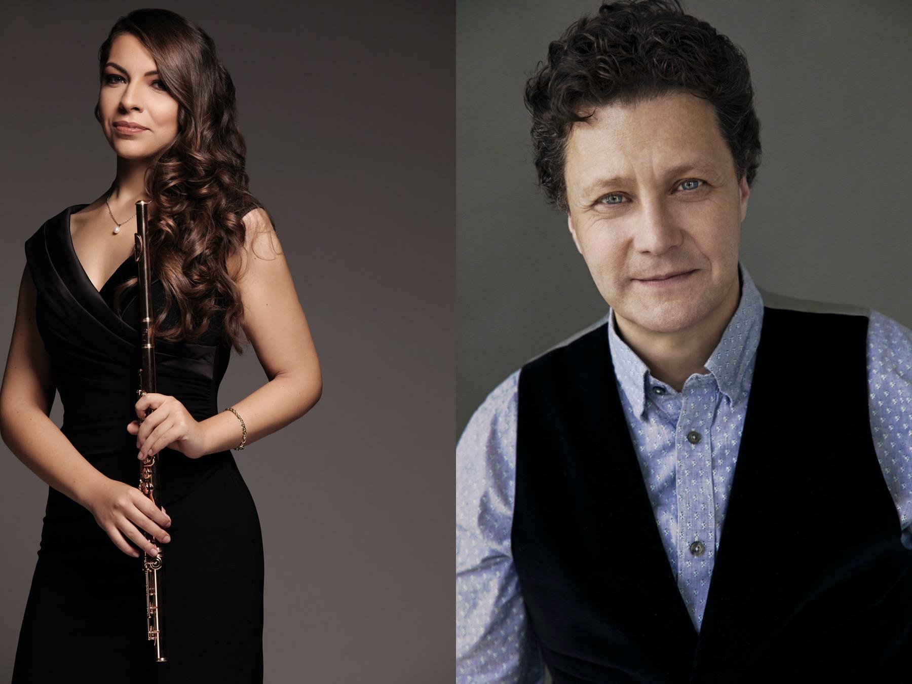 DAME MYRA HESS MEMORIAL CONCERTS: Ginevra Petrucci and Jory Vinikour
