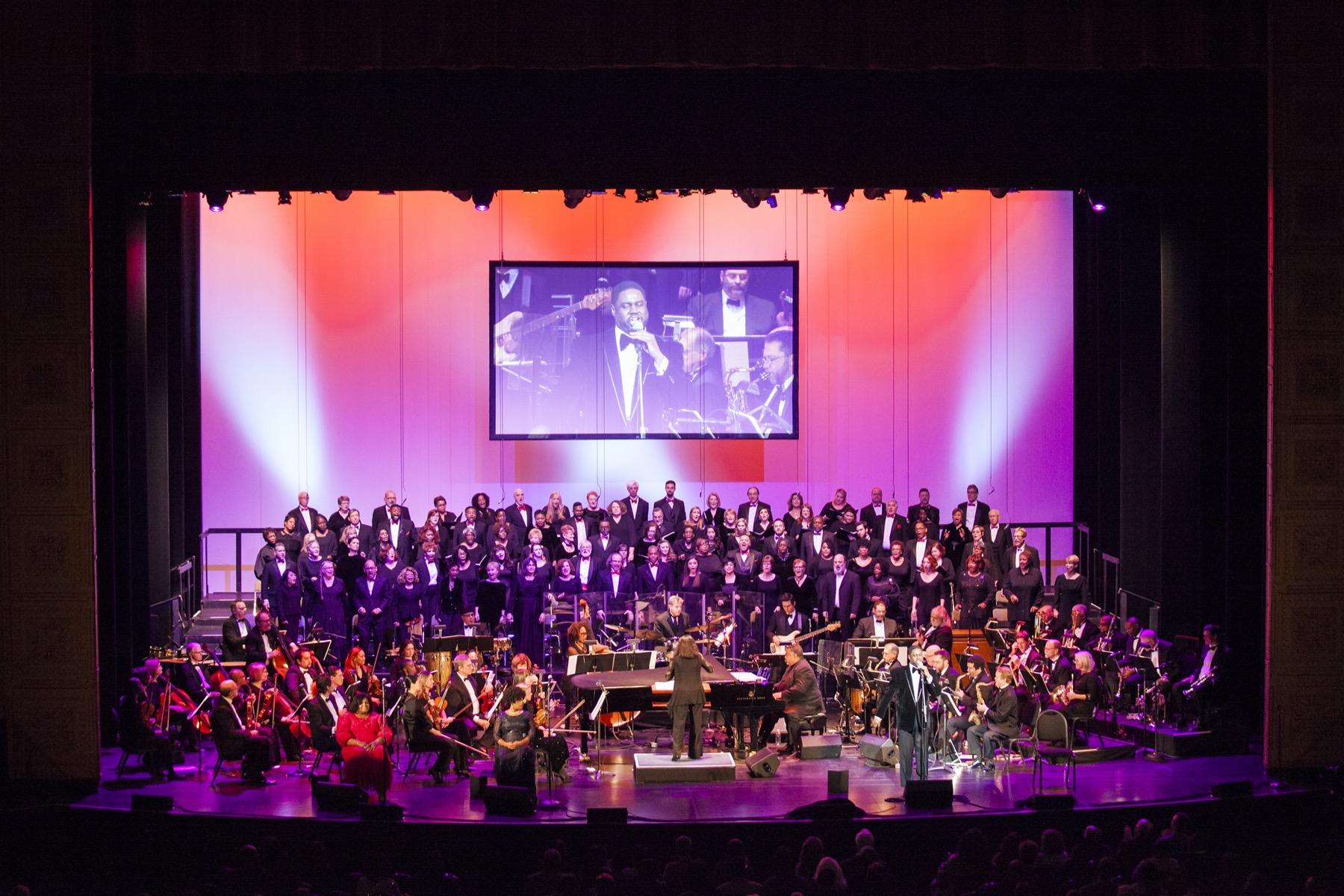 Too Hot to Handel: The Jazz-Gospel Messiah stage shot in Chicago