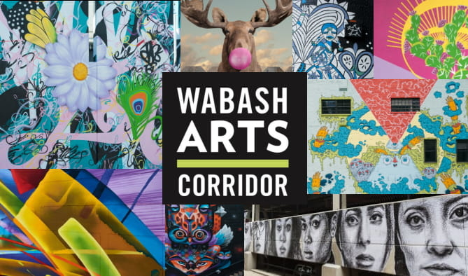 Wabash Arts Corridor Walking Tours