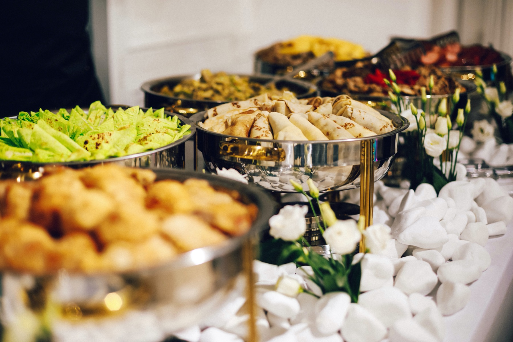 Food trends for big meetings