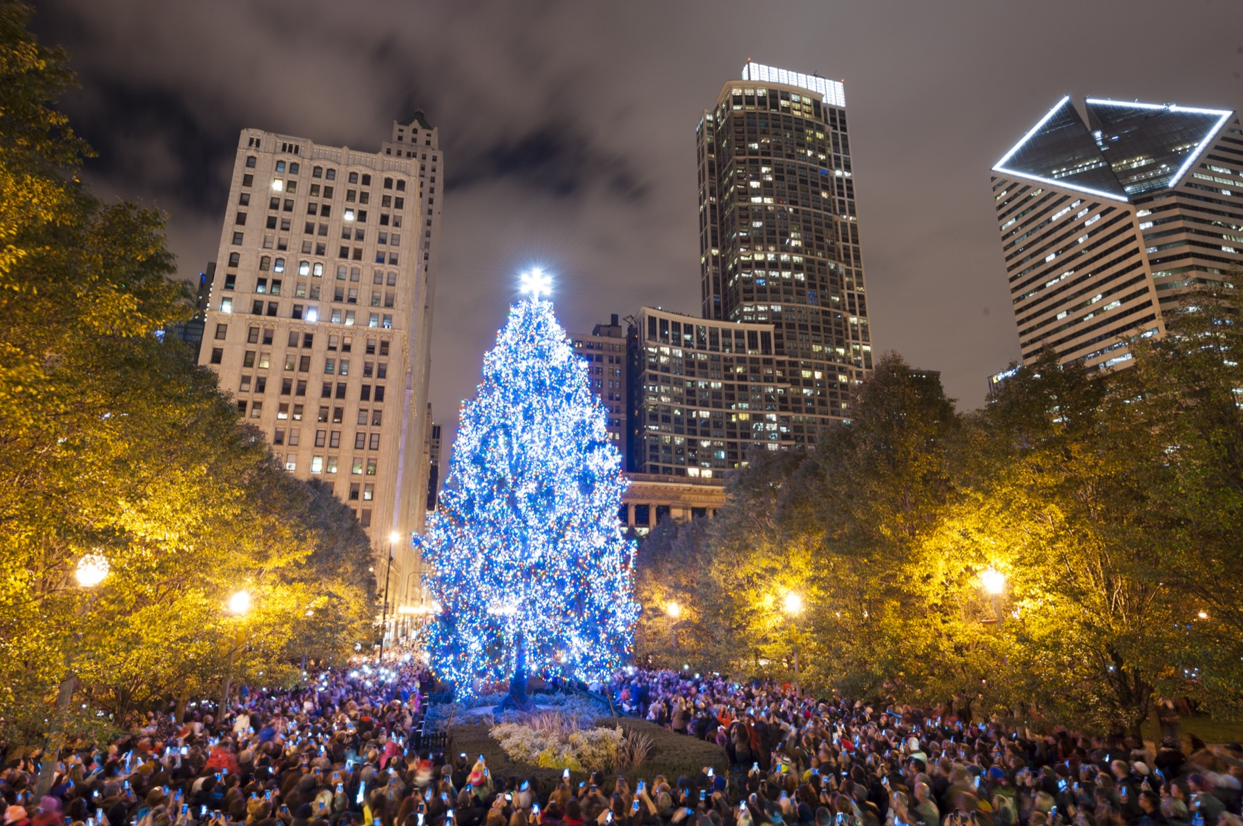 Chicago Christmas.City Of Chicago Christmas Tree Lighting 11 22 2019