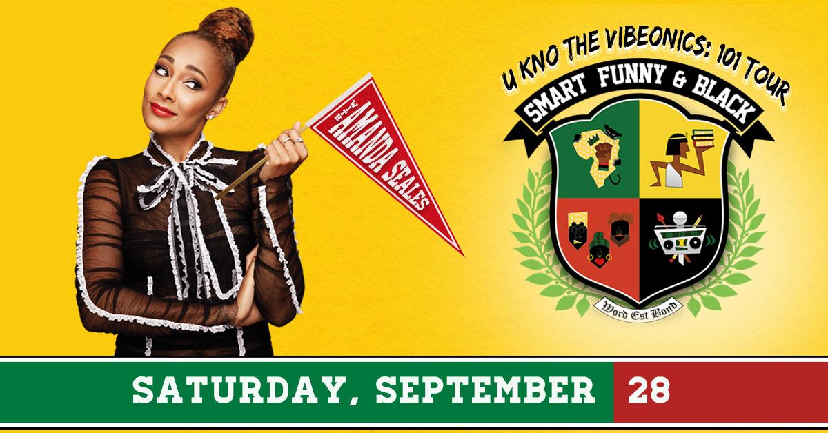 Smart, Funny &; Black with Amanda Seales