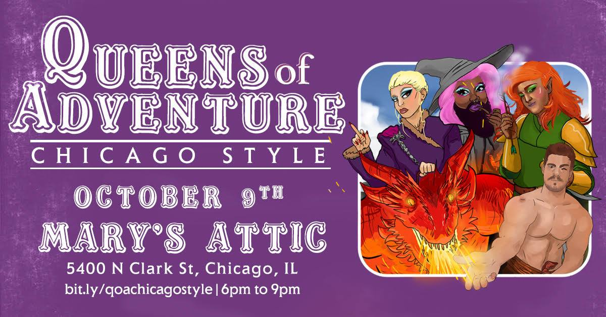 Queens of Adventure: Chicago Style