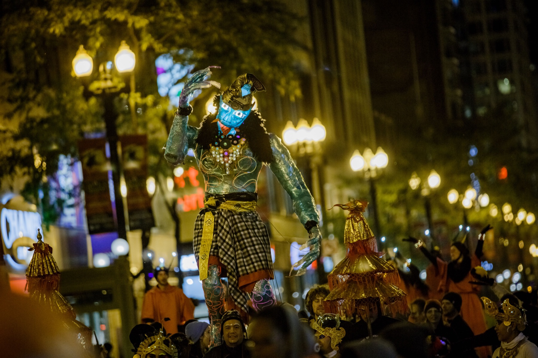 Arts in the Dark: Halloween Parade