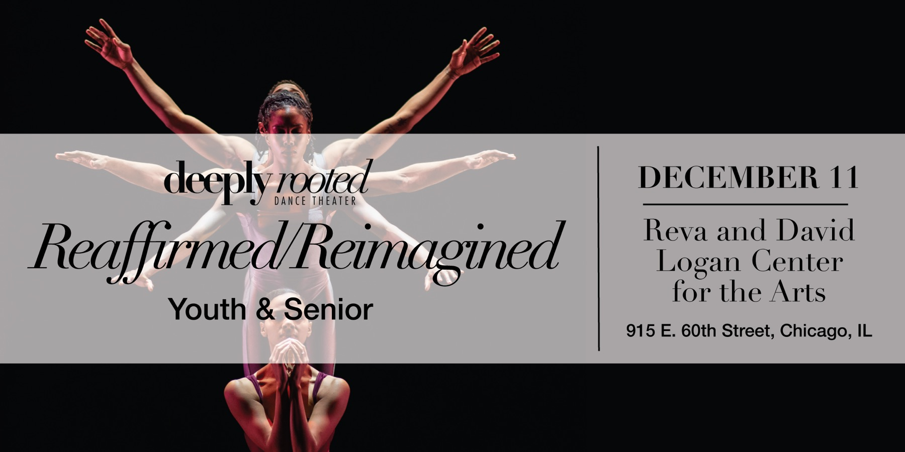 Deeply Rooted Dance Theater Reaffirmed/Reimagined – Youth & Senior